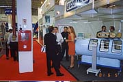 Annual international Trade «Hospitalar - 2001». Khrunichev Medical  Equipment Plant